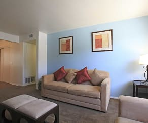 Living Room, Sunrise Vista Apartments