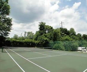 Tennis Court, CV Apartments at Glenolden Station