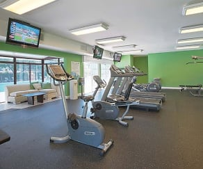 Fitness Weight Room, Maple Bay Townhomes