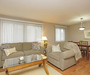 Living Room, Granite Ridge Apartments