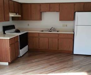 Kitchen, Sussex Apartments