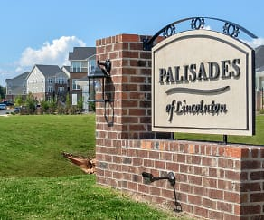 Community Signage, Palisades of Lincolnton