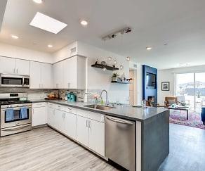 Kitchen, NOHO 55 Apartments