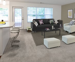 Living Room, Avalon Oaks and Oaks West