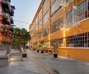 Building, Santee Court