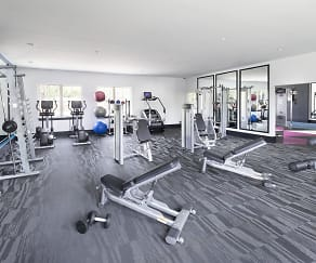 Fitness Weight Room, Arbor Park of Alexandria