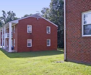 Building, The Columns Apartments