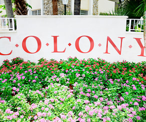 Community Signage, Colony at Dadeland