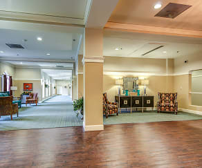 Clubhouse, Lake Oaks Senior Apartments