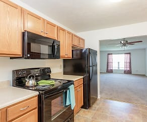 Kitchen, Hickory Hollow Senior Living 55+
