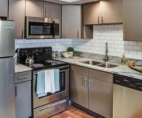 Kitchen, The Grove at Hickory Valley