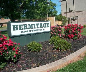 Community Signage, Hermitage Apartments