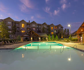 Resort-Style Pool and Sundeck, The Falls at 109