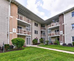 Building, Hillside Terrace Apartments
