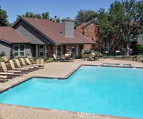 Pool, Rock Island Apartments