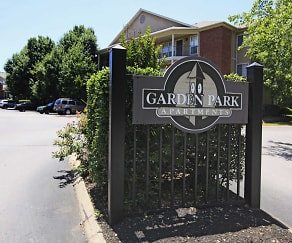 Community Signage, Garden Park Apartments