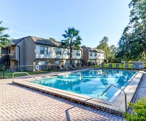 Pool, Mandarin Apartments