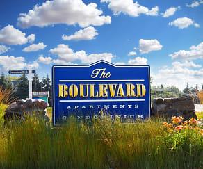 Community Signage, The Boulevard