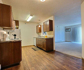 Eagle Run Apartments - 2 Bdrm - Kitchen - Dining, West Lake Apartments