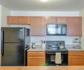 Kitchen, Rockridge Apartments