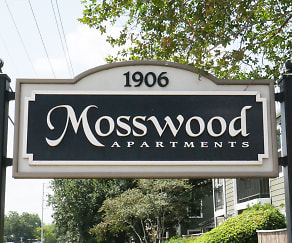 Community Signage, Mosswood Apartments
