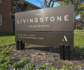 Community Signage, Livingstone Apartments