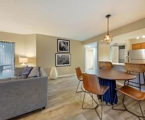 Dining Room, Sheridan Ocean Club Apartments