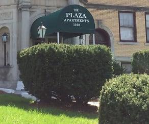 Community Signage, Plaza Apartments