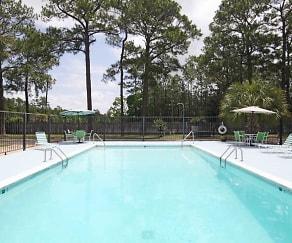 Pool, Singing River Apartments