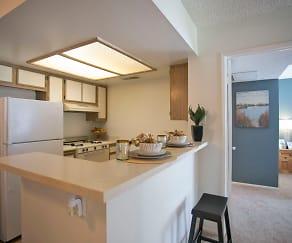 Kitchen, Vintage View Apartments