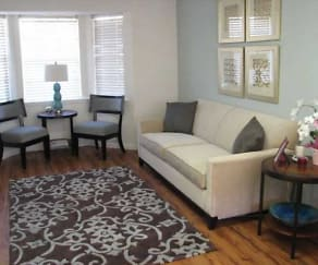 Living Room, Crossings at Clairmont