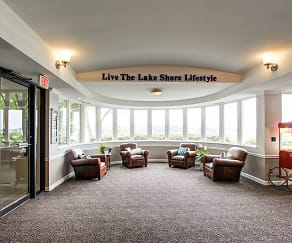 Clubhouse, The Lake Shore Apartments