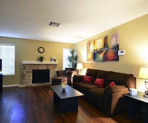Living Room, The Place at Castle Hills