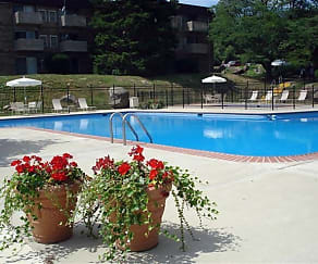 Pool, Top Of The Hill Apartments