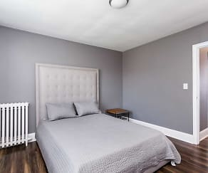 Bedroom, SilverBrick Townhomes