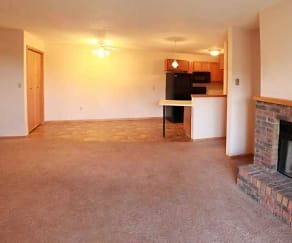 Living Room, Colton Heights Apartments