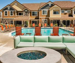 Pool, Crestone Apartment Homes