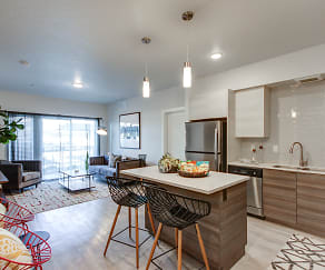 Kitchen, The Lofts at Ten Mile