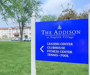 Community Signage, The Addison at English Village