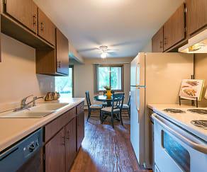 Kitchen, Willoway Apartments