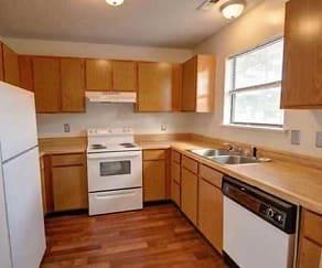 Kitchen, Park West Apartments