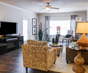 Living Room, Riverstone Apartments
