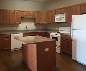 Kitchen, LSS Apartments Watford City
