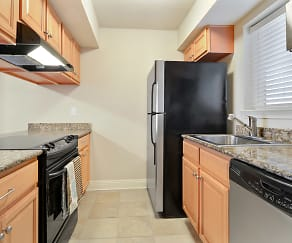 Kitchen, MetroView Condominiums