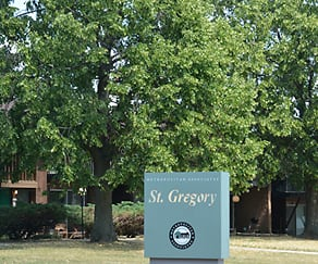 Community Signage, St. Gregory Apartments