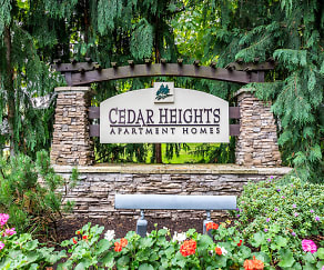 Community Signage, Cedar Heights