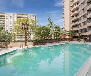 Pool, Oakwood Crystal City- Furnished Apartments