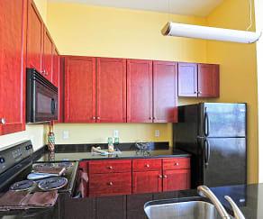 Kitchen, Hopewell Lofts