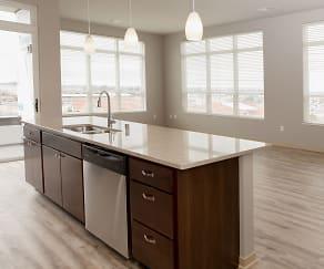 Kitchen, Watts Hill Apartments