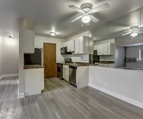 Kitchen, Wauconda Park Apartments
